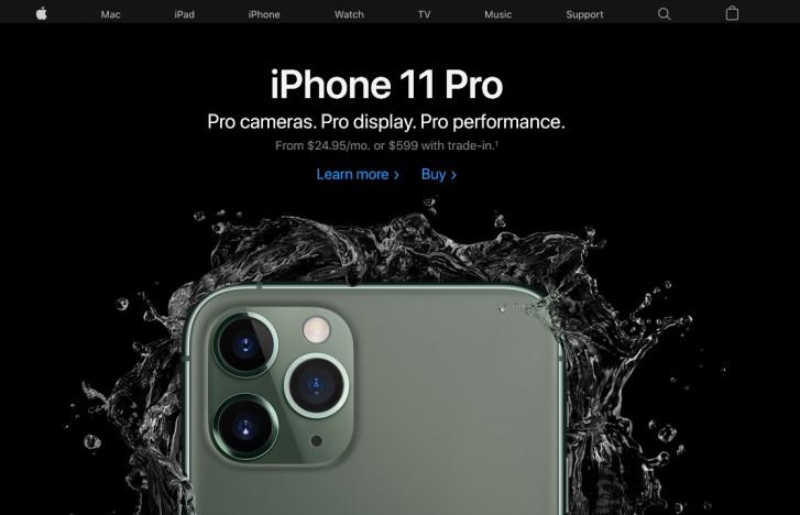 Apple website ensure brand consistency