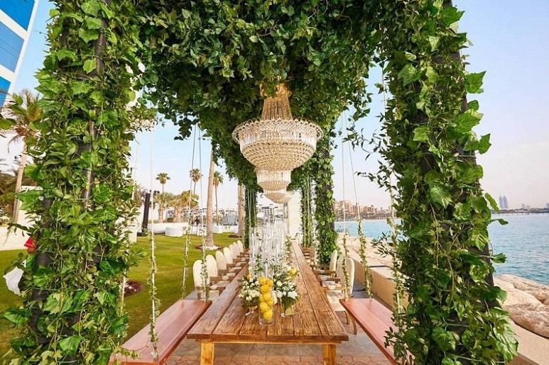 Palm Garden burj al arab Dubai