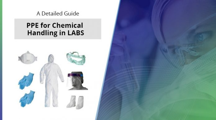 PPE for Chemical Handling in Labs
