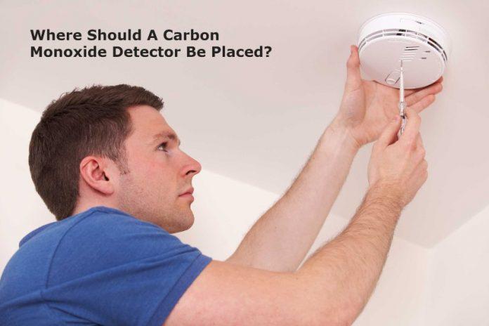 Where Should A Carbon Monoxide Detector Be Placed